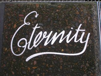 Eternity - Arthur Stace