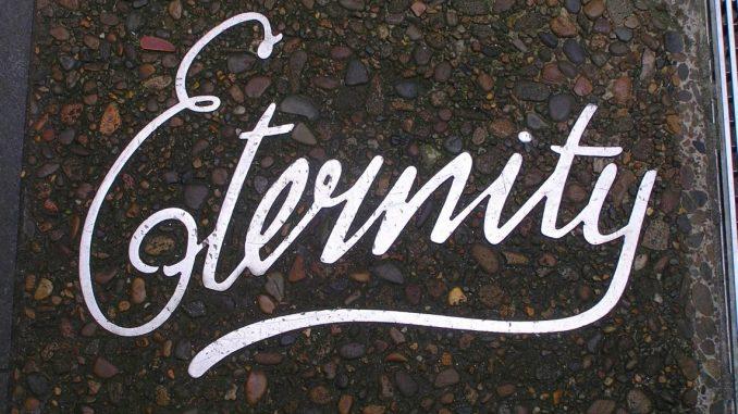 Eternity - Arthur Stace