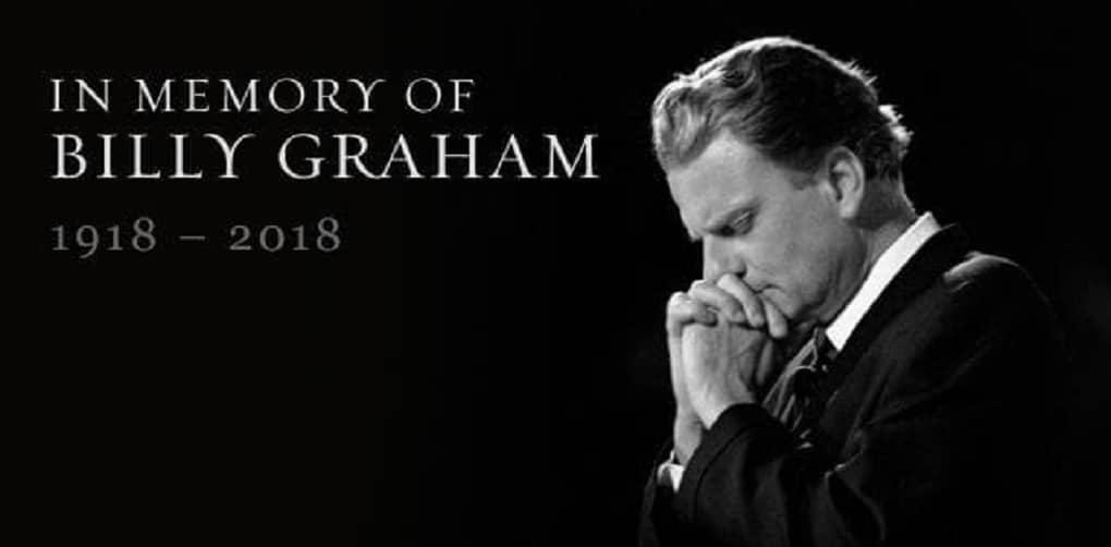 Farewell Billy Graham
