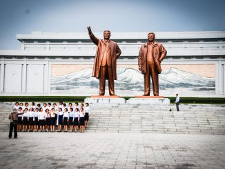 North Korea monument
