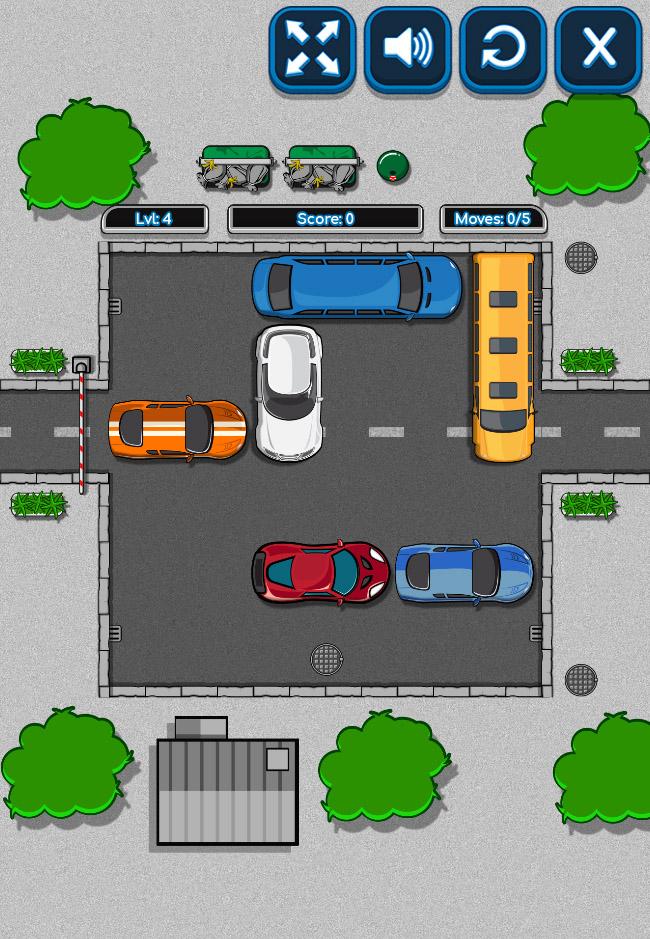 Parking Block Puzzle