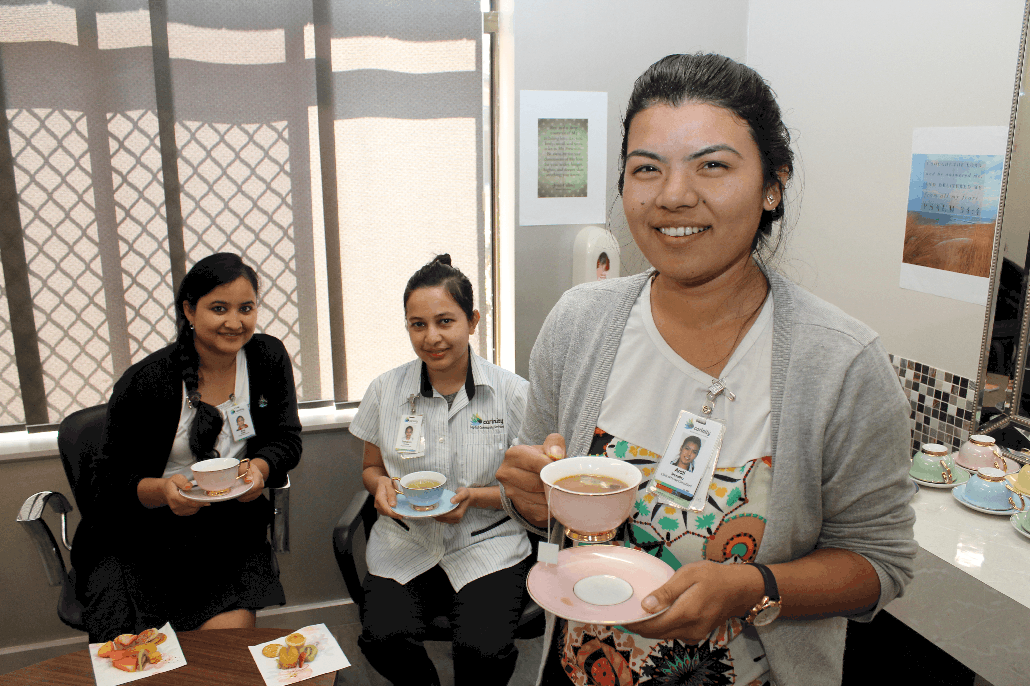 Tea for the Soul reducing compassion fatigue for aged care workers