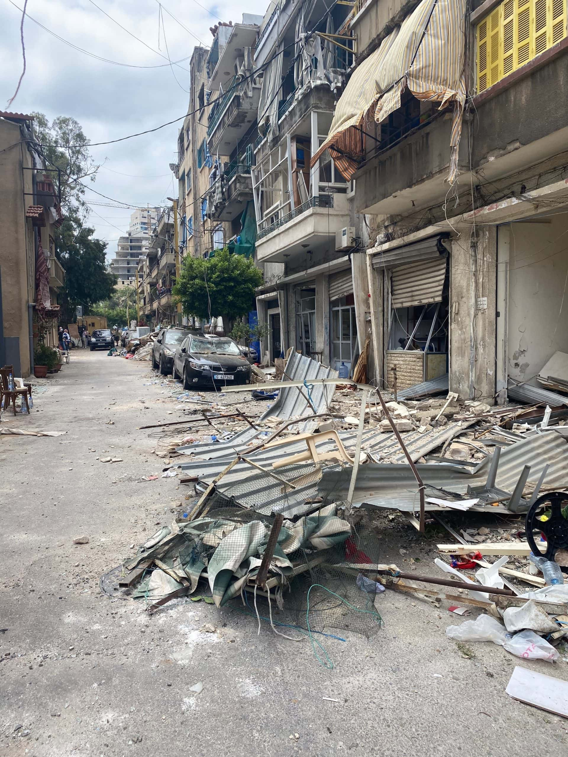 Christian partner impacted by huge explosion that devastated Beirut