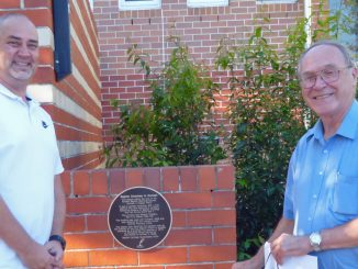 A Heritage Plaque of Triple Significance!